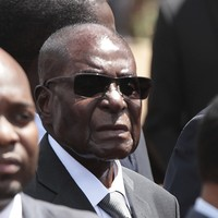 Robert Mugabe isn't falling asleep at events - he's 'just resting his eyes'