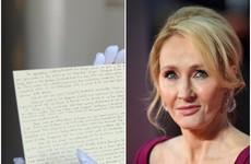 A Harry Potter prequel handwritten by JK Rowling has been stolen