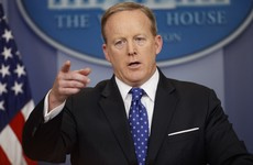 'That's not a threat. He simply stated a fact': Spicer plays down Trump 'tapes' warning