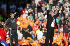 Before the storm: Ferguson appeals for Anfield calm
