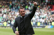 Rodgers praises players as Celtic hit 100 points despite Irish winger's stunning strike