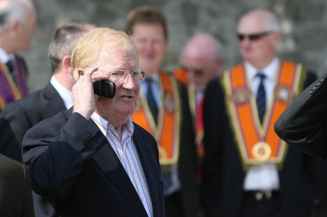 File photo dated 06/05/08 of Brendan Duddy, who played an important role in securing peace in Northern Ireland and has died aged 80.
