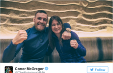 This photo of Conor McGregor and Katie Taylor meeting for the first time will make all Irish people smile