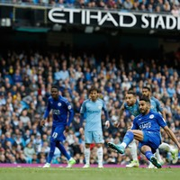 Mahrez slips up with two-touch penalty attempt to let Man City off the hook