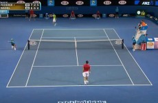 Watch: Ballboy makes amazing catch during Federer-Nadal match