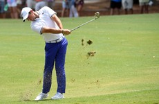 McIlroy falls further back as he battles injury and course has him feeling 'handcuffed'