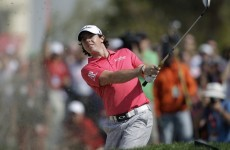 Up and down: McIlroy's two shot penalty caps frustrating day