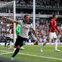 Kane ensures Spurs give White Hart Lane the perfect send-off at the expense of Man United