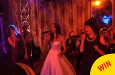 The lead singer of B*Witched sang C'est La Vie at her own wedding and it was glorious