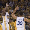 Steph Curry and Kevin Durant were on fire in last night's NBA playoff