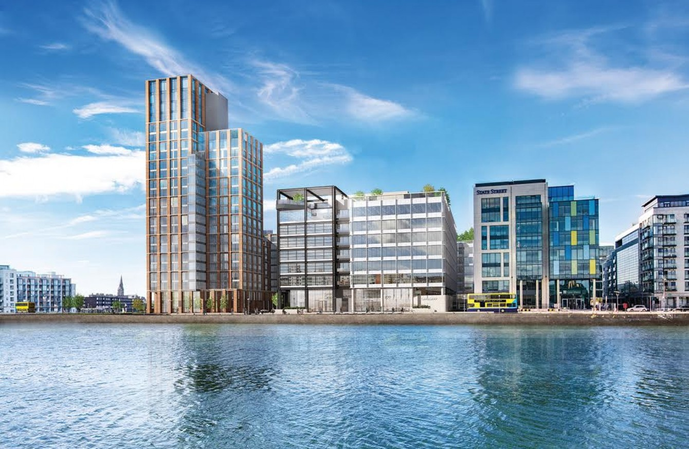 JP Morgan to buy office block on Dublin Docklands that can