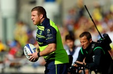 Sean Cronin's neck makes him a serious doubt for Leinster's Pro12 semi against Scarlets
