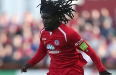 Finn Harps finally get work permit for Millien - two months after signing him