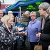 Angry voter confronts Theresa May over welfare cuts