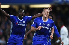John Terry on target as champions Chelsea march on with entertaining win