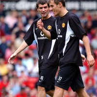 'Worship is too strong a word': Phil Neville pays tribute to former skipper Roy Keane on Off The Ball