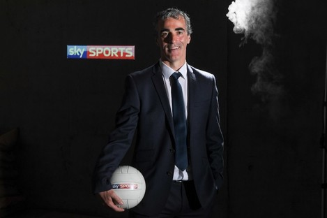 Jim McGuinness at today's Sky Sports GAA launch.