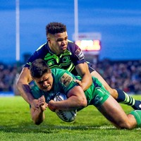 'He's a rock star up in Ballina. Now he's going to play for Ireland'