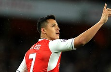 Sanchez brace ensures top-four battle will go down to the wire