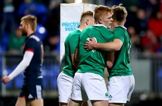 Six new caps named in Ireland squad for this summer's U20 World Championships