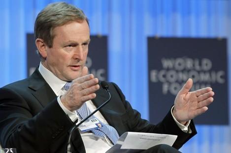 Enda Kenny: Definitely not blaming anyone at Davos.