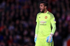 Stunning Romero penalty save halts Man United's Premier League losing streak
