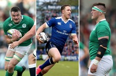 Ryan, Porter and O'Loughlin the latest Ireland call-ups off Leinster conveyor belt