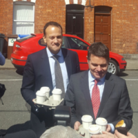 Leo finally makes an appearance on the campaign trail, as two more ministers declare support