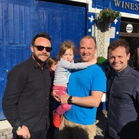 Ant and Dec were out gallivanting and posing for photos around Co. Leitrim yesterday