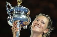 Azarenka claims Australian Open women's title