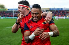 Saili gets nod at 13 ahead of Taute for Munster's Pro12 semi-final
