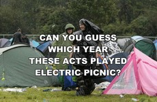 Can You Guess Which Year These Acts Played Electric Picnic?