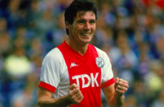 The iconic Irish international and the unmitigated disaster of signing for Johan Cruyff's Ajax