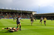 As it happened: Northampton Saints v Connacht, Champions Cup play-off semi-final