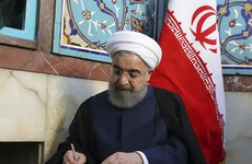 Hassan Rouhani swoops to landslide victory in Iranian presidential election