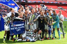 Wembley delight for Irish duo as Millwall return to the Championship