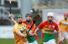 Carlow and Antrim to meet in Christy Ring Cup final after securing wins today