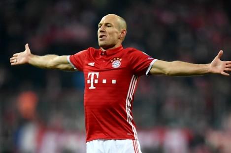 Bayern Munich attacker Arjen Robben