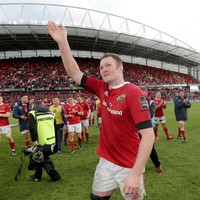 'My whole adult life I've played in Munster. It means everything'