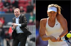 Harry Redknapp signs Maria Sharapova and more in the sporting tweets of the week