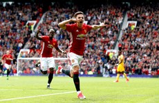 Josh Harrop scores on dream debut as Mourinho's youthful side ease past Palace
