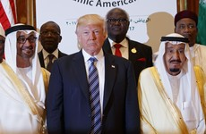 'Drive them out of your community' - Trump delivers message to the Islamic world on extremism
