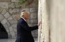 Donald Trump is the first sitting US president to visit the Western Wall