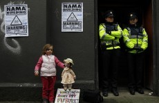 'Unlock NAMA' building occupation ended by gardaí
