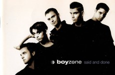 Throwback Tunes: Revisiting Boyzone's first album, Said And Done