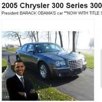 Want to buy Barack Obama's old car? It's on eBay…