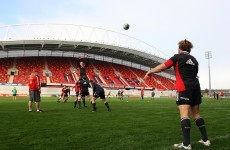 Munster include Flannery in squad