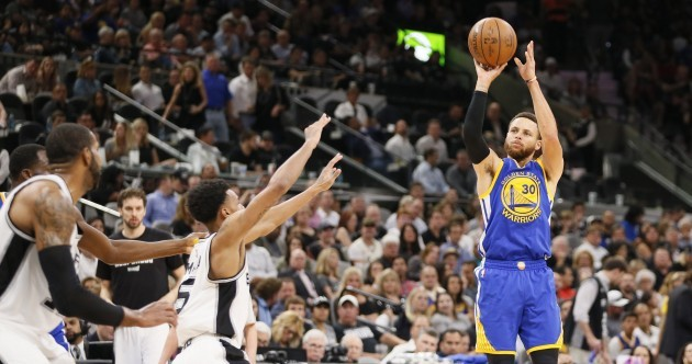 Curry eclipses Kobe as Warriors complete sweep against Spurs