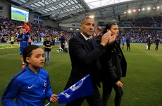 Chris Hughton's outstanding achievement with Brighton recognised with two major awards