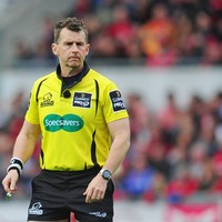 Nigel Owens to take charge of Munster's Pro12 showdown with Scarlets